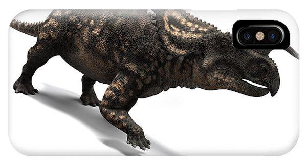 Einiosaurus Dinosaur, Artwork Phone Case by Sciepro