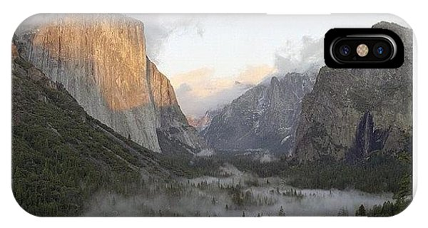 City iPhone Case - El Capitan. Yosemite by Randy Lemoine