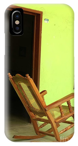 El Quelite Rocking Chair Mexico IPhone Case