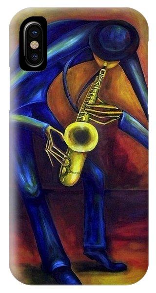 El Saxofonista IPhone Case