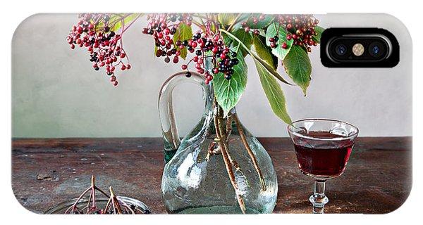 Elderberries 08 IPhone Case