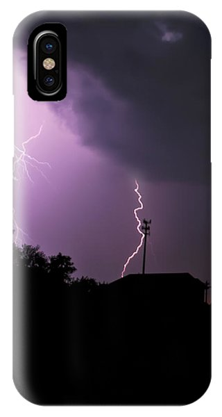 Electrifying Sky  IPhone Case