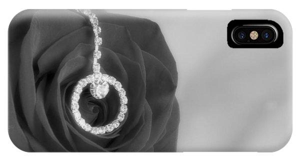 Elegance In Black And White Phone Case by Mark J Seefeldt