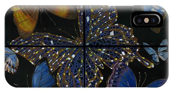 Elena Yakubovich Butterfly 2x2 IPhone Case