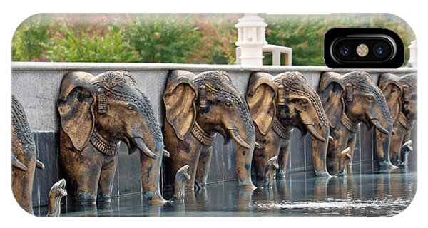 Elephants Of The Mandir IPhone Case