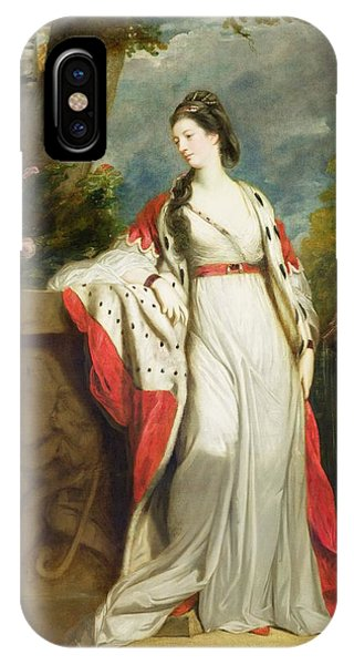Elizabeth Gunning - Duchess Of Hamilton And Duchess Of Argyll IPhone Case