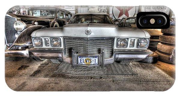 Elvis' Cadillac IPhone Case