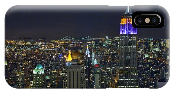 Empire State At Night IPhone Case