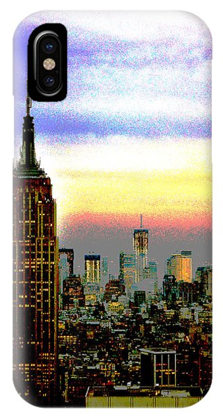 Empire State Building4 IPhone Case