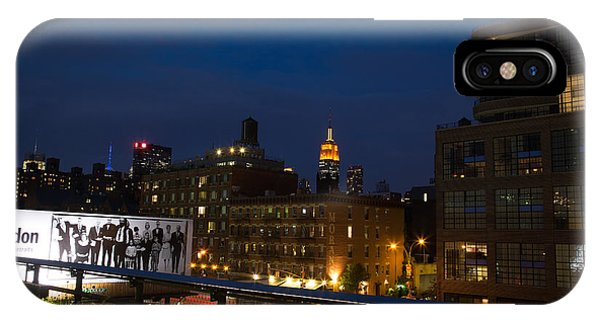 Empire State From High Line Phone Case by John Dryzga