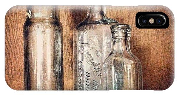 Vintage iPhone Case - Empties by Ken Powers