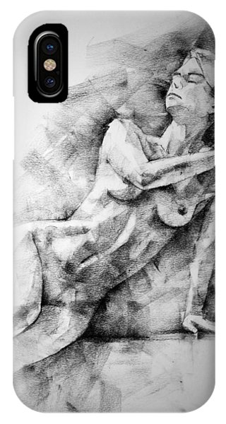 Erotic Sketchbook Page 2 IPhone Case
