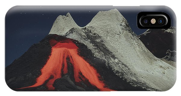 Pyroclastic Flow iPhone Case - Eruption Of Natrocarbonatite Lava Flows by Richard Roscoe