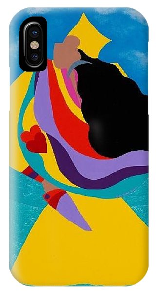Voodoo iPhone Case - Erzulie Haitian Goddess Of Love by Synthia SAINT JAMES