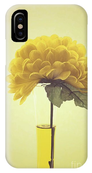 Yellow iPhone Case - Estillo - S03-01q by Variance Collections