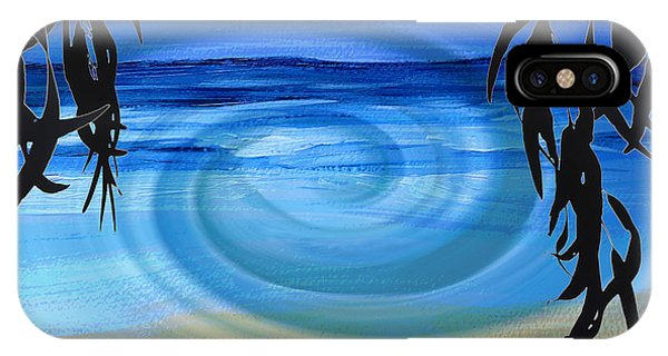 Eucalyptus Ocean View IPhone Case