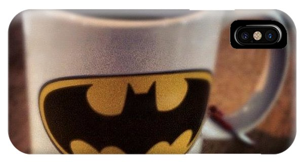Superhero iPhone Case - Even The Barista Knows Who I Am by Dustin Goolsby