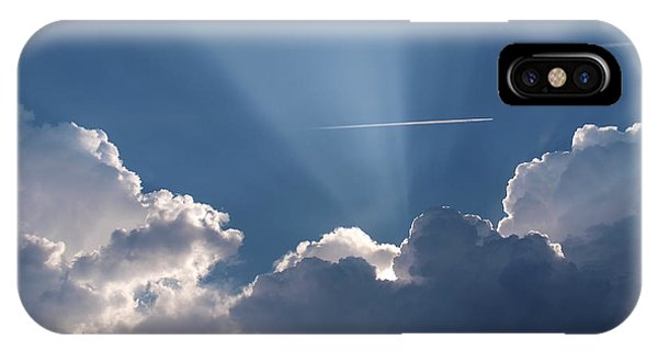 Even Through The Clouds You Will Find A Ray Of Sunshine IPhone Case