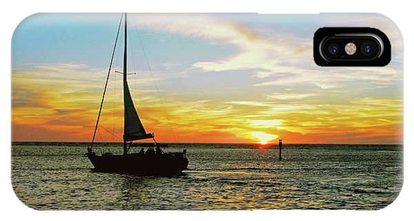 Evening Sailing IPhone Case