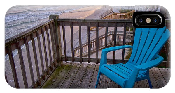 Oceanfront iPhone Case - Evening Thoughts by Betsy Knapp