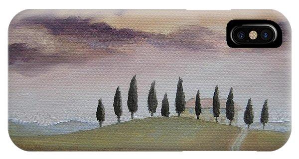 Evening Tuscany IPhone Case