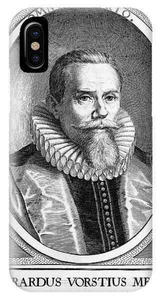 Everardus Vorstius, Dutch Physician Phone Case by Middle Temple Library