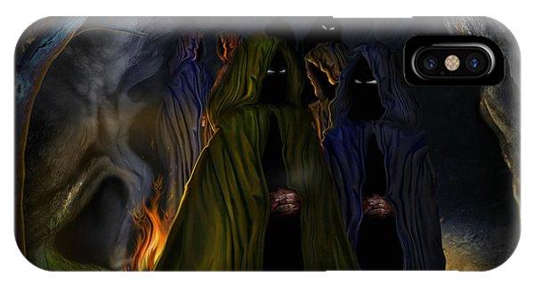 Evil Speaking IPhone Case