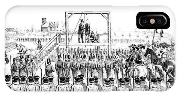 Execution Of John Brown, American IPhone Case