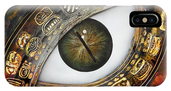 Eye Calendar IPhone Case