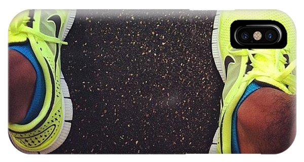 Workout iPhone Case - Eye Candy. #nikefrees #nike #gymflow by Romel Tropel