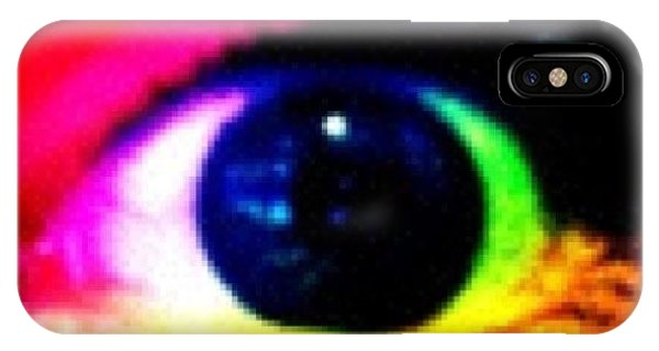 Bright iPhone Case - Eye by Lea Ward