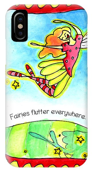 Fairies Flutter Everywhere IPhone Case