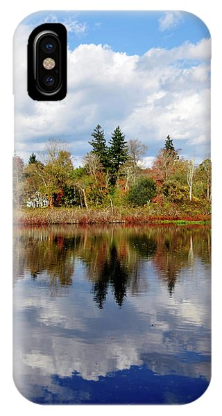 Fall Beginnings IPhone Case