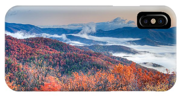 Fall Fog 1 IPhone Case