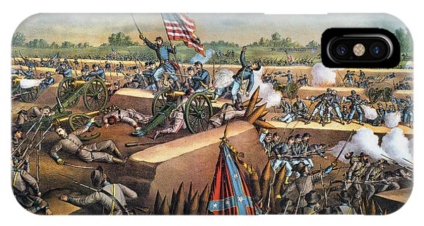 Allison iPhone Case - Fall Of Petersburg, 1865 by Granger