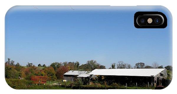 Fall On The Farm Phone Case by Kim Galluzzo Wozniak
