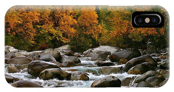 Fall On The Little Susitna River IPhone Case