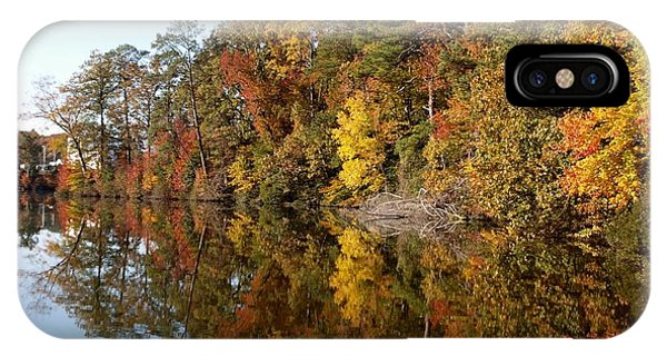 Fall Reflections Phone Case by Larry Krussel