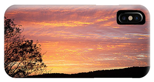 Fall Sunrise IPhone Case