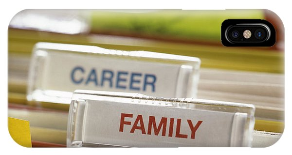 Family Before Career Phone Case by Tek Image