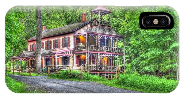 Feltville Historic District Store And Church  Phone Case by Lee Dos Santos