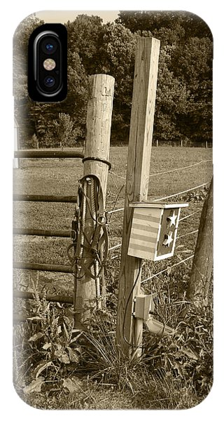 Fence Post IPhone Case