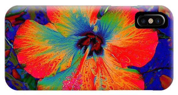 Festonned Hibiscus IPhone Case