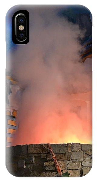 Fiery Entrance IPhone Case