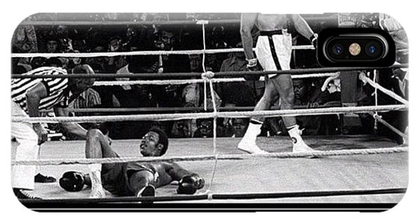 Motivational iPhone Case - Fight Of The Century by Nigel Williams