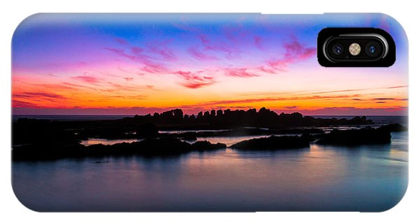 Figures To Sunset IPhone Case