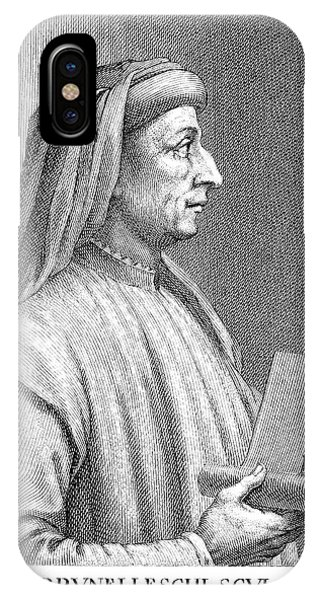 Filippo Brunelleschi IPhone Case