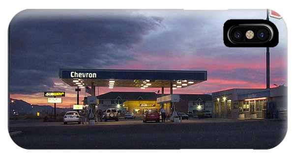 Gas Station iPhone Case - Filler Up by Mike McGlothlen