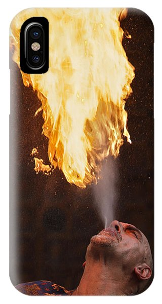 Fire Eater 2 IPhone Case