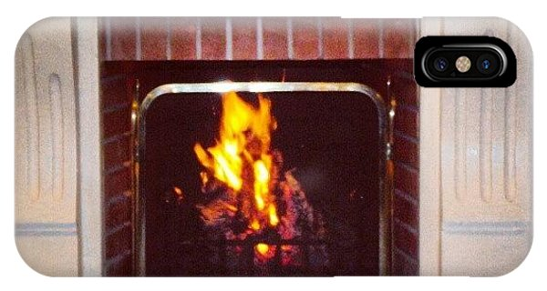 #fire #fireplace #classic #igaddict IPhone Case
